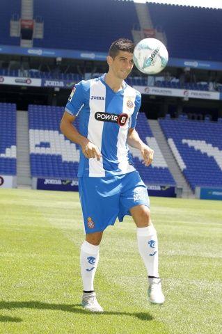 @Espanyol Presentación del nuevo referente de la afición 'perica: Gerard Moreno. Un futbolista criado en las categorías inferiores #9ine