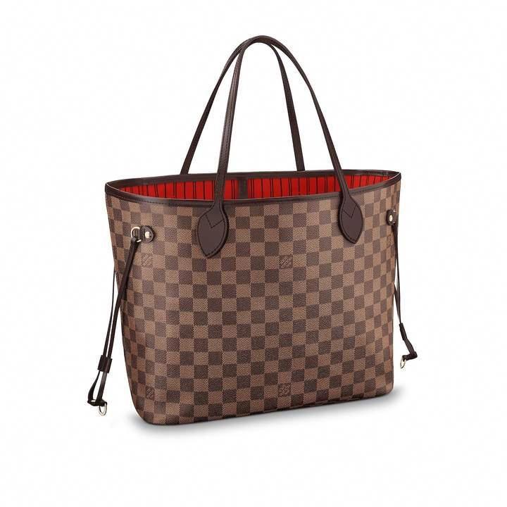 823bfc0f1 Louis Vuitton Neverfull Damier Ebene MM Brown #Louisvuittonhandbags ...