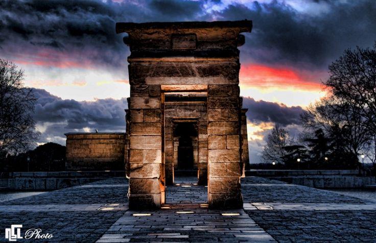 Templo de Debod Madrid by Nelson Seyedzadeh Lopez via @minube