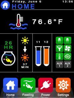 iAqua: My Touch Interface Aquarium Controller (Arduino)