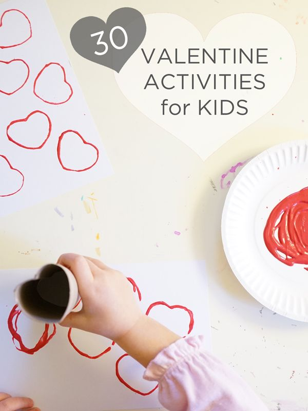 30 simple, cool, and fun Valentine Activities for Kids   TinkerLab.com