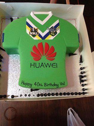 Canberra Raiders Cake
