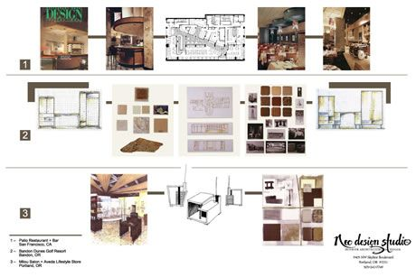 Interior Design Presentation Boards Interior Design L6