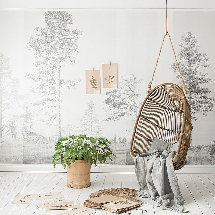 """Good morning! Today we are very happy to present our new wallpaper collection """"Nordic Moods"""" by @scandinavian_surface ! Check it out! Photo and styling by: @sofiaatmokkasin #pwnordicmoods by photowall_sweden"""