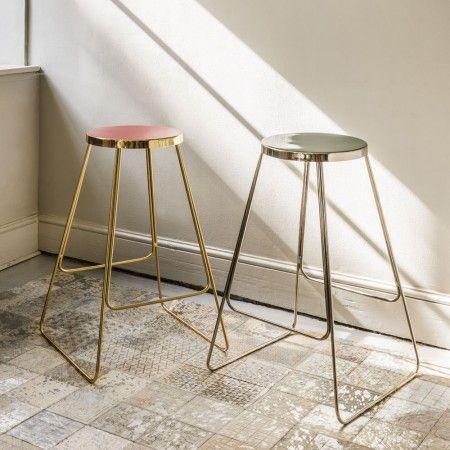 Abel Iron Stools | Sofas & Seating | Graham & Green