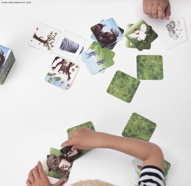 Puteți folosi cărțile STRÖVA pentru un joc simplu, sau puteți inventa propriul vostru joc alături de Regele Elan.