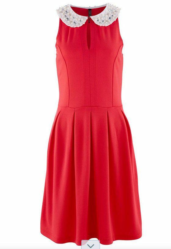 Traumhaft Elegantes Kleid Mit Perlenbesatz Gr 32 34 Elegante Kleider Kleider Elegante Abendkleider