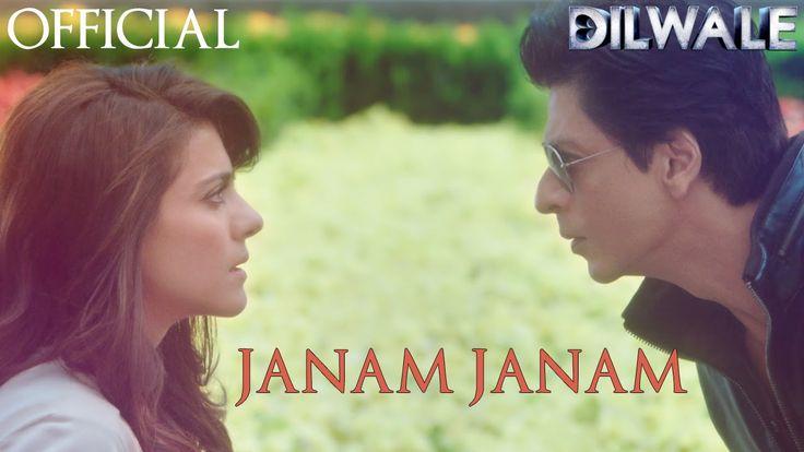 Janam Janam – Dilwale | Shah Rukh Khan | Kajol | --- wet shirt + their smiles = <3 these two! #janamjanam #Dilwale #srkajol