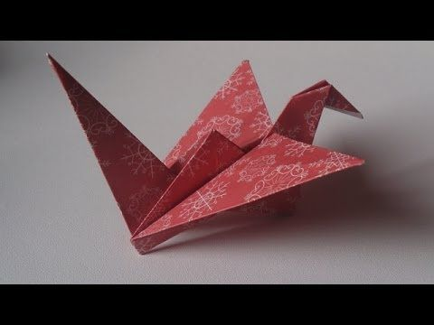 Fabriquer un oiseau en papier - Origami facile - YouTube