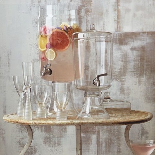 Marseilles Beverage Dispenser, Large - eclectic - barware - - by Rain Collection