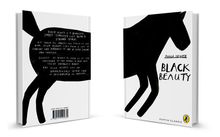 black beauty: Penguins Modern, Modern Classic, Beautiful Book, Classic Covers, Book Covers, Penguins Book, Black Beautiful, Designtaxi Com, Children Book