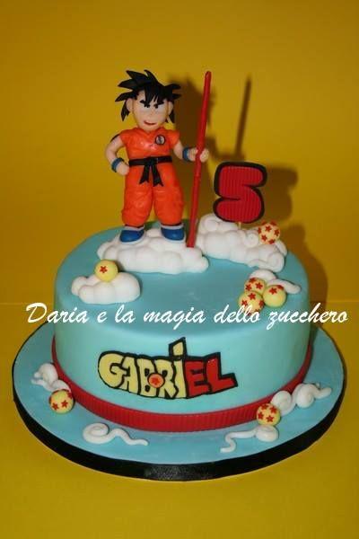 Dragonball Cake Torta Dragonball Goku Children Cakes