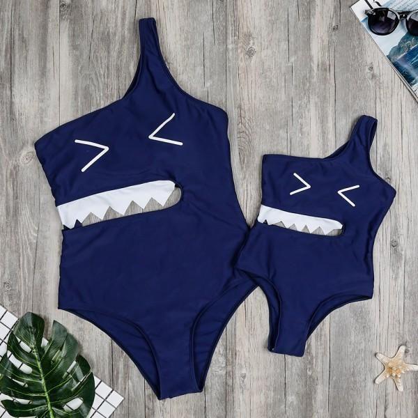 Mommy /&Me Family Matching Set Swimwear One Piece Bathing Suit Women Lady Swimsuit Floral Straps Dress Jumpsuit S-XL