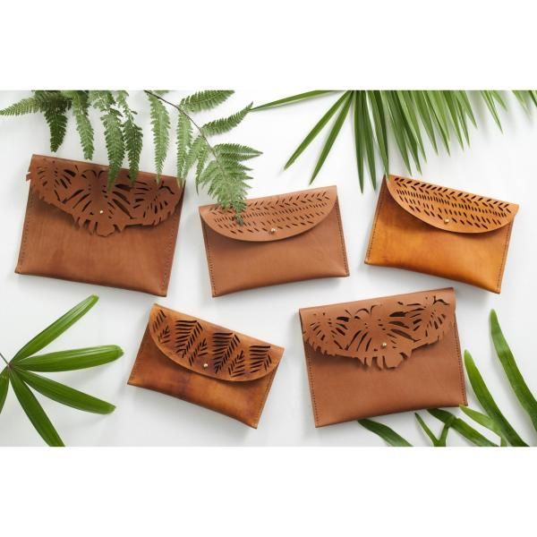 Clutches from ILUNDI - genuine leather