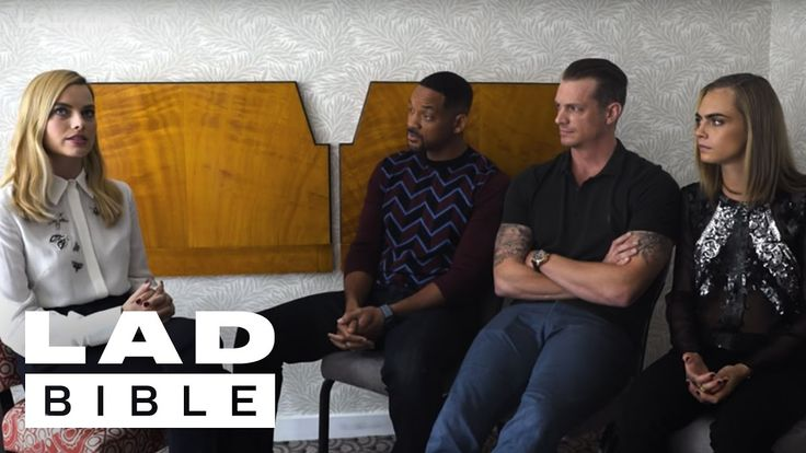 Will Smith, Margot Robbie, and Cara Delevingne (Suicide Squad) Tell Trut...