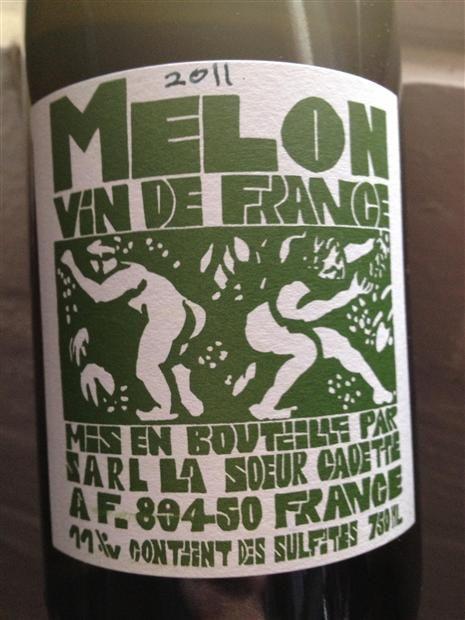 Community wine reviews and ratings on 2011 Domaine de la Cadette Vin de France La Soeur Cadette Melon, plus professional notes, label images, wine details, and recommendations on when to drink.