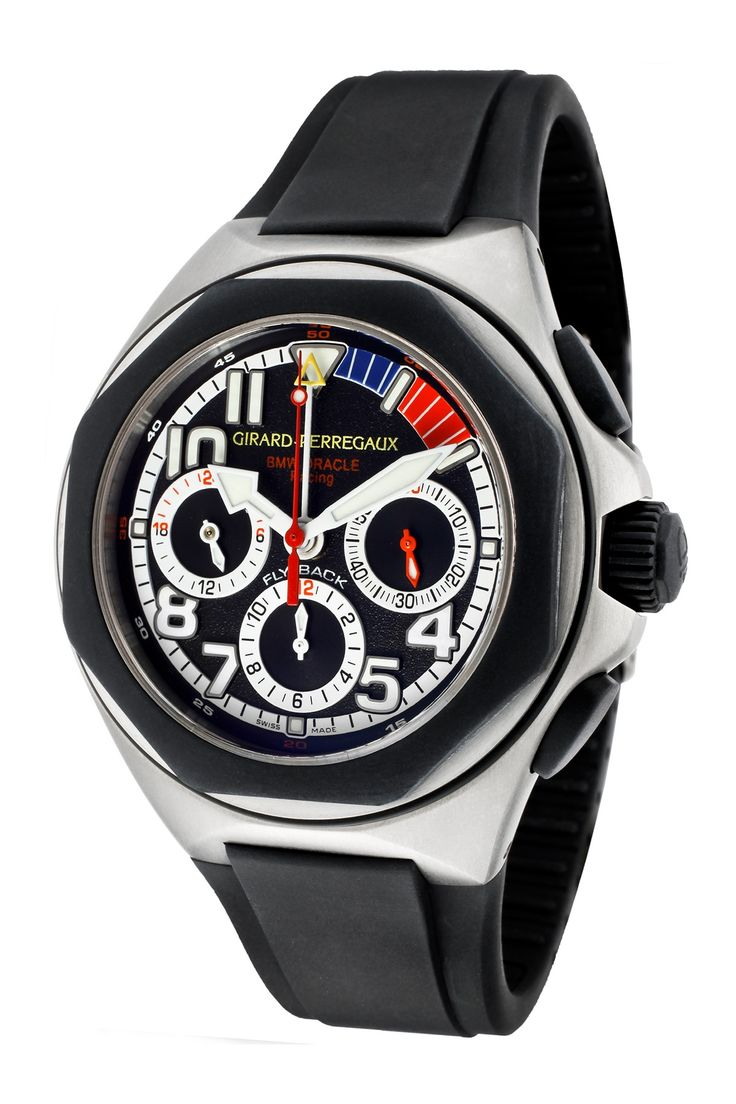 Girard-Perregaux Men's Laureato/BMW Oracle Racing Chronograph Watch