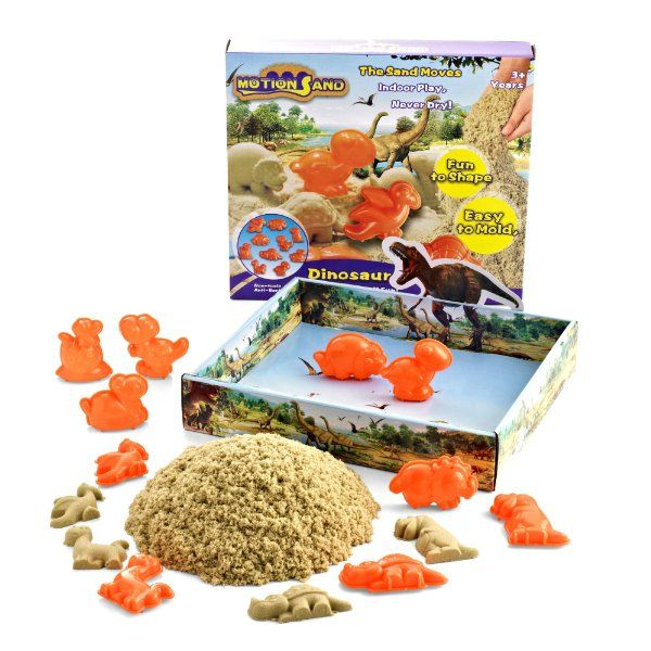 Was £14.99 > Now £6.99.  Save 53% off Motion Sand® Dinosaurs Playset #2StarDeal, #ArtSand, #ArtsCrafts, #Toys, #Under10