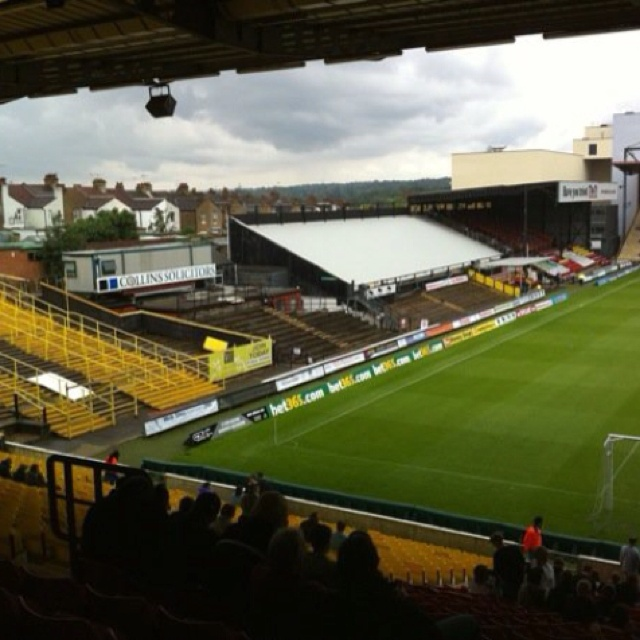 Watford Football Club - Vicarage Road   View from the away end.