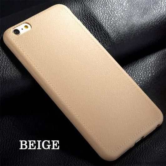 Beige Luxury Ultra Thin Leather Case For iPhone 5 and up  >>> Ultra Thin Leather Back Case with 100% high quality. Protect your phone from being scratched and dirty.