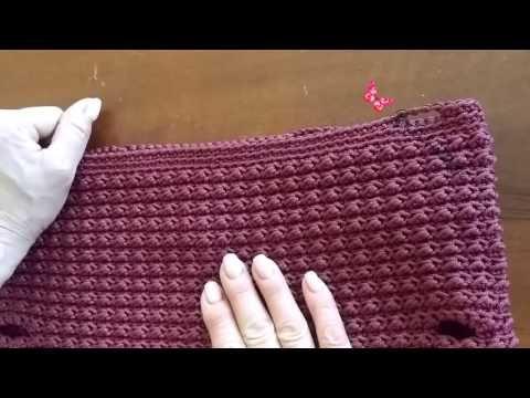 Punto m. bassissima e mezza m. alta alternate, in circolo - Crochet - YouTube