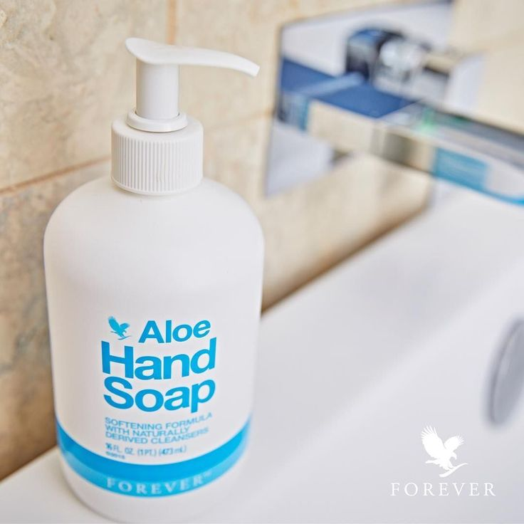 "Aloe Hand Soap provides a soothing experience with each use. Formulated from pure 100% stabilised and natural cleansers, this gentle formula with fruit extracts leaves your skin feeling soft and hydrated. ""Use Aloe Hand Soap to quickly clean the bathroom sink - it's so delicate on skin but so powerful on dirt!"" - Anna. ( @foreveruk)"