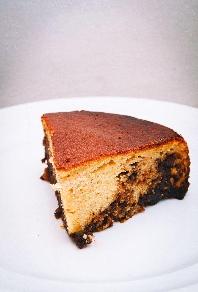 Мандариновый пирог с шоколадно-ореховой пастой - Семь/восьмых. Рецепты, фото, стихи.