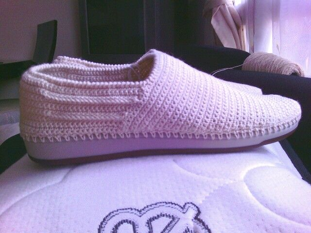 94 best Zapato para caballero a crochet. images on Pinterest ...