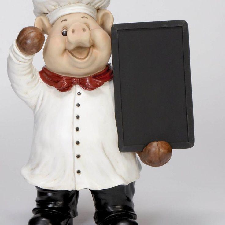 Chef Pig Kitchen Decor