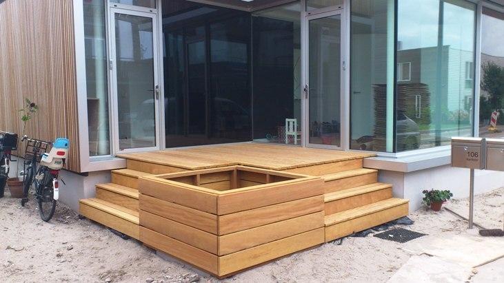 Ontwerp houten buitenvloer door Great Outdoors