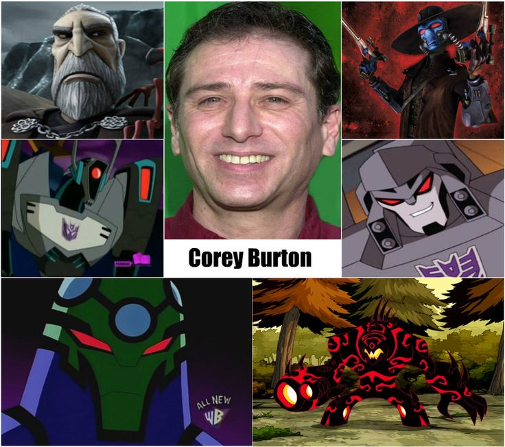 corey burton voice actor