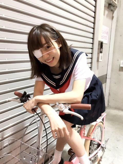 #須田亜香里 #眼帯 #セーラー服|SKE48オフィシャルブログ Powered by Ameba