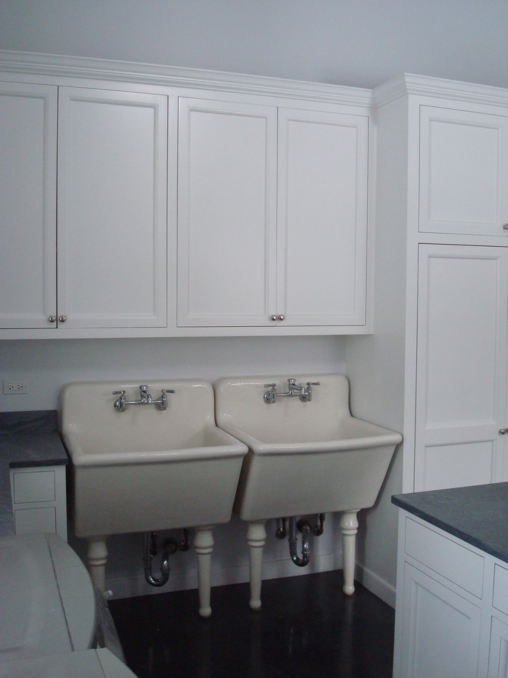 Double Deep Sinks For The Laundry Room Been There Done