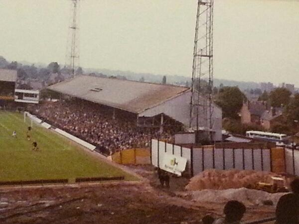 Old North Bank from the new John Ireland Stand