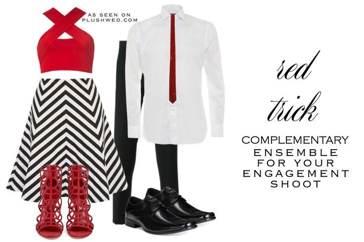 Engagement shoot ensemble | Matching couple's outfit | Toronto Weddings
