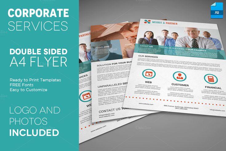 Brochure  Flyer Design     Business Flyers