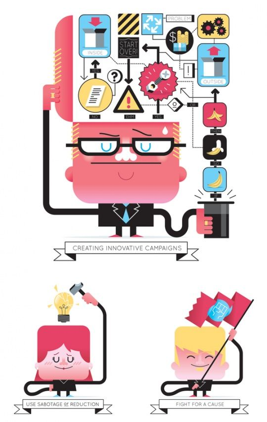 Original Vector Illustrations by Loulou