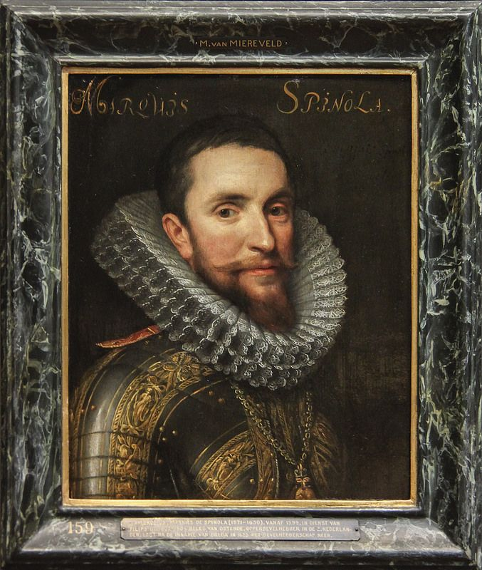 Ambrogio Spinola, workshop of Michiel Jansz van Mierevelt, c. 1609-33 | da Kotomi_