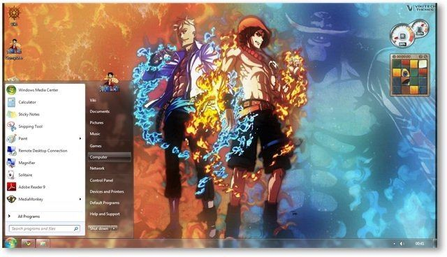 One Piece Theme For Windows 7 And 8 Anime Themes Anime Themes One Piece Theme Windows 7 Themes Anime wallpaper themes for windows 7