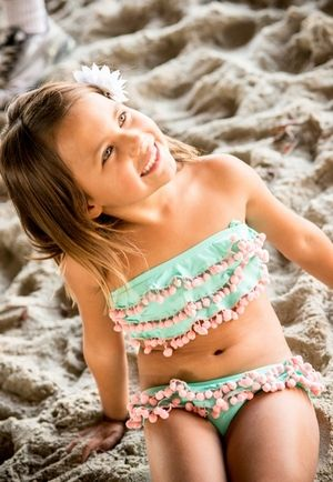 not big on little girls bikinis but this one is just too cute...