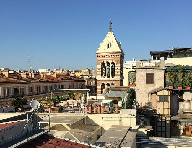 Hotel Artemide a Rooftop View of #Rome