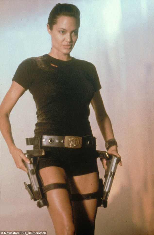 Cool chick: She found box office gold in 2001's Lara Croft: Tomb Raider, in which she play...