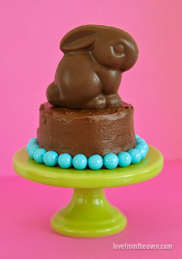 Mini Easter Cakes - Love From The Oven