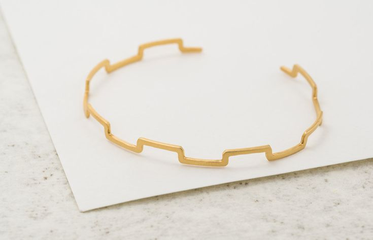 Excited to share the latest addition to my #etsy shop: Castle Bracelet , Skinny gold Adjustable cuff , Minimalist crown jewelry Hand Made , silver Plated , unique gift for women #jewelry #bracelet #birthday #whitegold #minimalist #unisexadults #yes #silver #independenceday http://etsy.me/2Fpcf6W