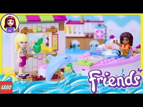 Lego Friends Heartlake City Airport Set Unboxing Building Review - Kids Toys - YouTube