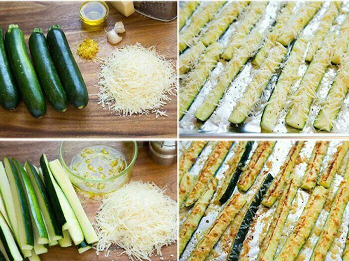 Zucchini & cheese snacks