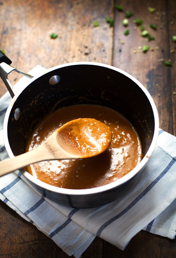 Red Thai Curry Sauce - simple ingredients, extremely versatile, and so addicting. | pinchofyum.com