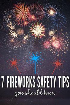 7 Fireworks Safety T