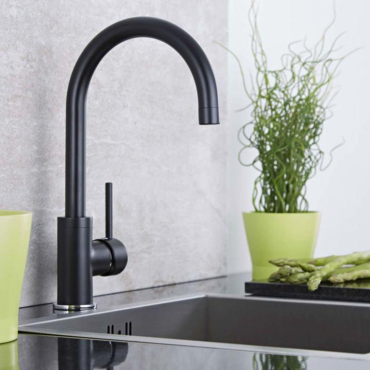 Mitigeur Cuisine Noir - KT0019B-EU - Plomberie sanitaire chauffage
