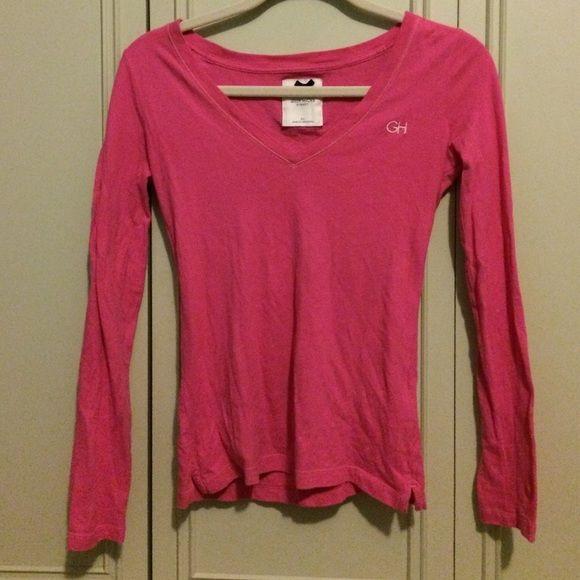 Pink Gilly Hicks long sleeve shirt Long sleeve Gilly Hicks top. Size XS. Pink. Gilly Hicks Tops Tees - Long Sleeve